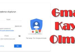 Gmail Kaydolmak