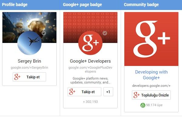 Google + Button Nasıl Eklenir