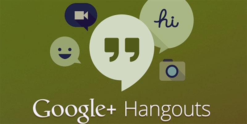 Google Hangouts Çoklu Görüşme