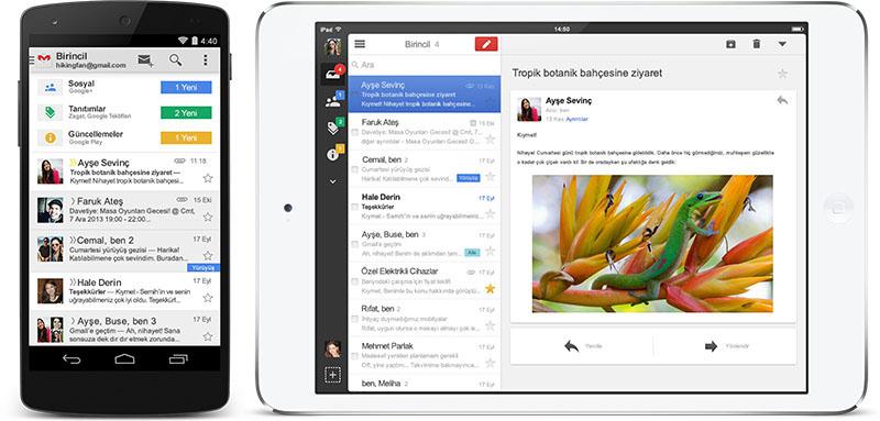 Mobil Cihazlarda Gmail Nasıl Kullanılır