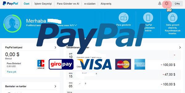Paypal Hesabınız Otomatik Para Çekilmesin!
