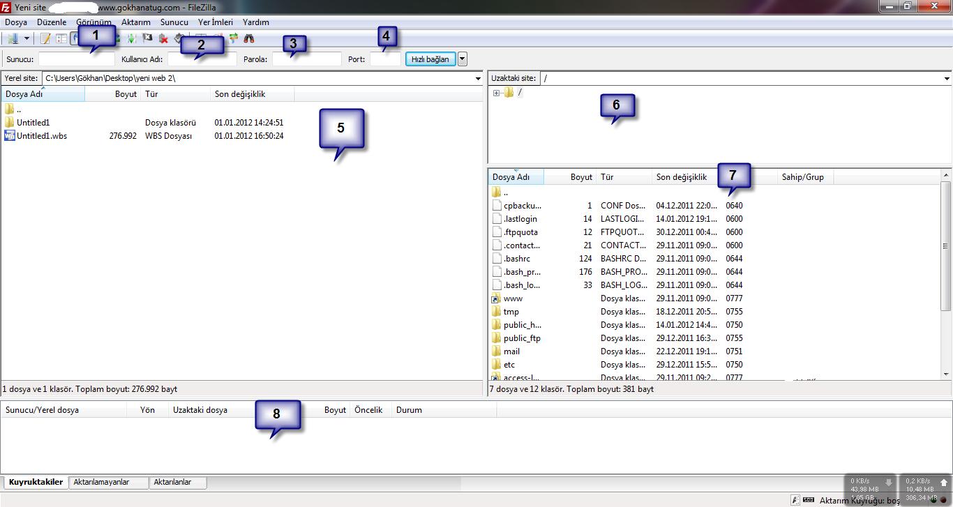 FileZilla Programı Nasıl Kullanılır