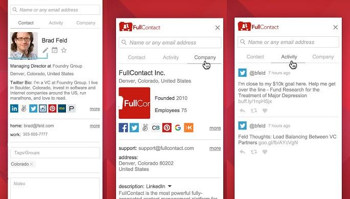 Chrome Faydalı Bir Eklenti Full Contact