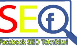 Facebook SEO Teknikleri