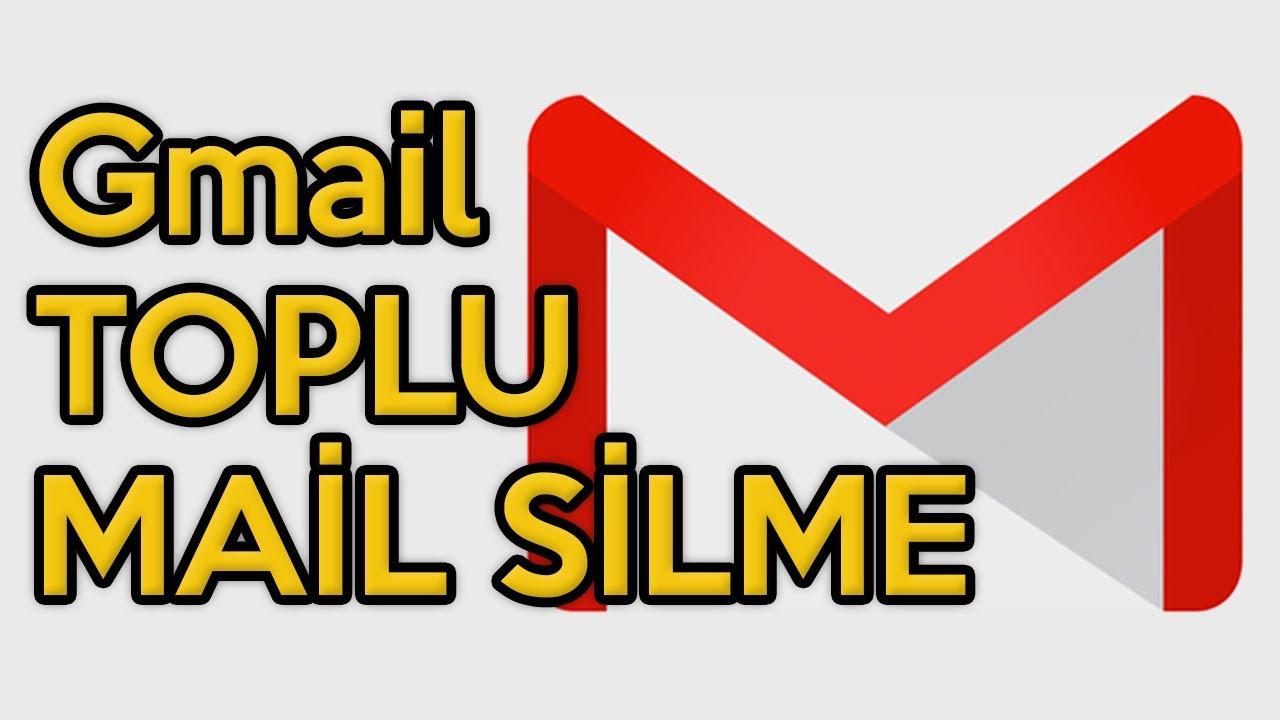 Gmail'de Toplu Mail Silme Nasıl Yapılır?