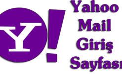 Yahoo Mail Giriş Sayfası